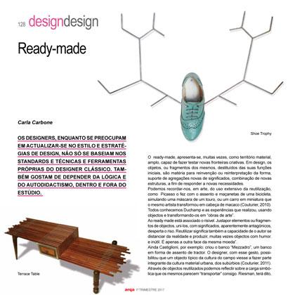 ראיון במגזין העיצוב ARQA